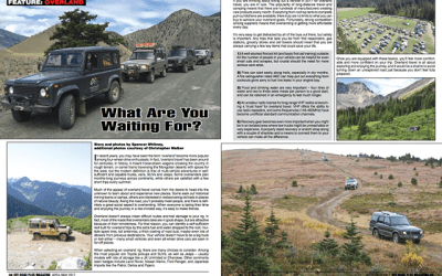 Off Road Plus Magazine – May 2017 Article