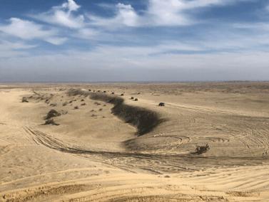New Defender Superstition dunes