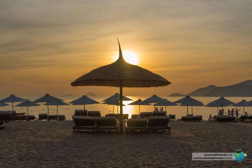 Sunrise in Nha Trang, Vietnam