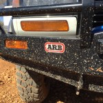 Simpson Mud on Bumper