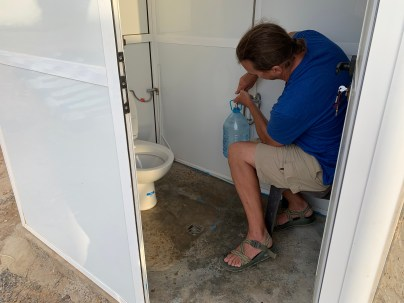 Bathroom in Aghroude