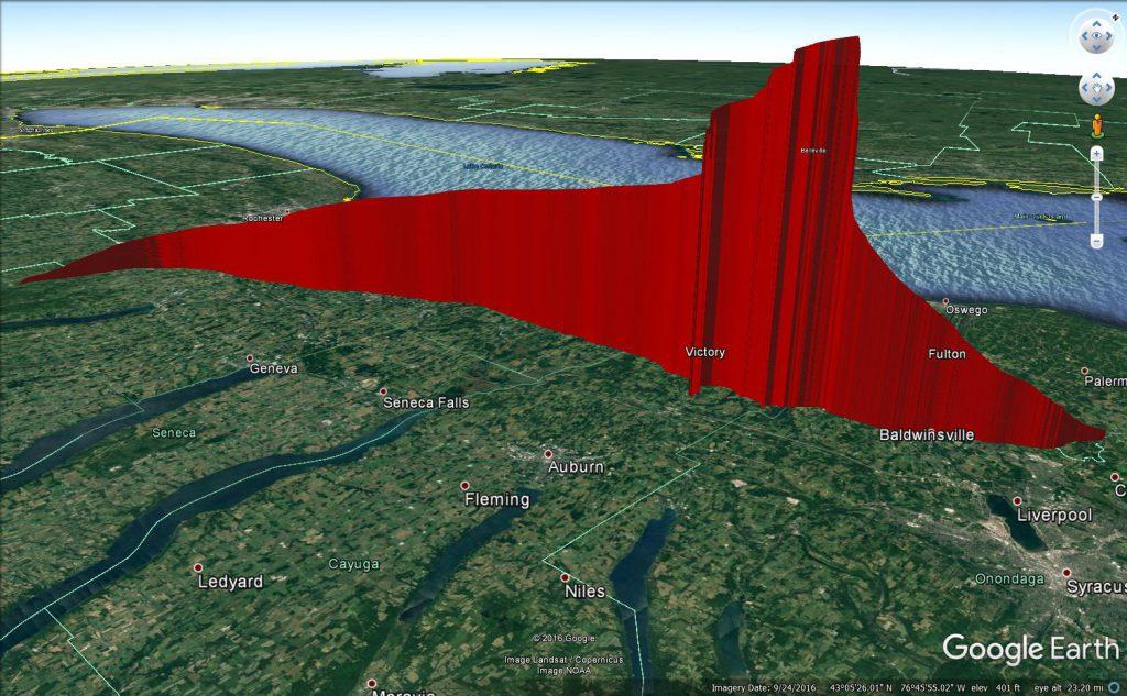 OLHZN-5 | 3D Actual Flight Path