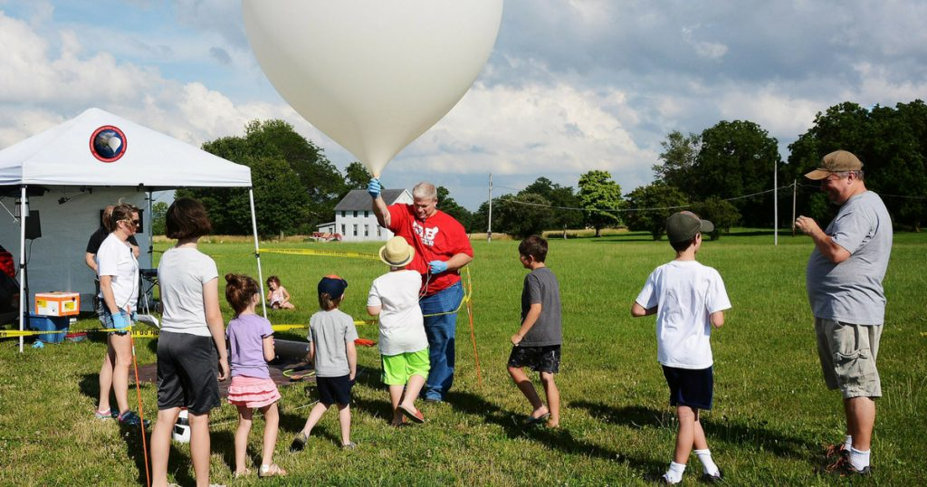 OLHZN Student High Altitude Weather Balloon Launches