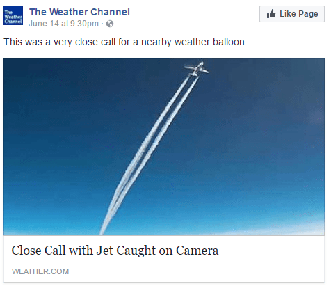 Weather Balloon Has Close Call with Jet | The Weather Channel