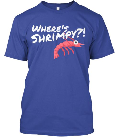OLHZN-10 Where's Shrimpy T-Shirt