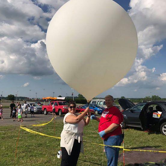 Atmospheric Weather Balloon
