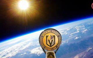 Vegas Golden Knights Weather Balloon Puck Drop