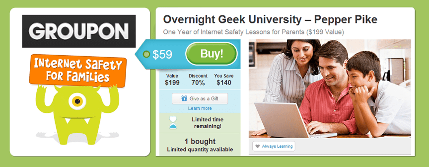 Internet Safety Course for Parents and Families - Groupon