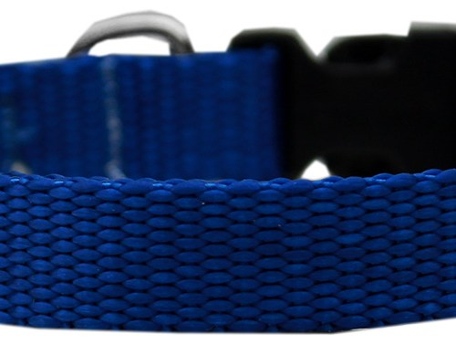 Adjustable Nylon Collar - Blue