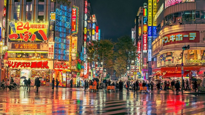 A picture of Tokyo, Japan during night- writing inspiration