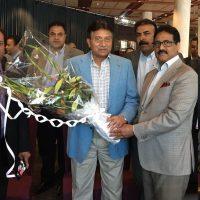 Musharraf arrives in Norway: Pakistan Union Norway invites him
