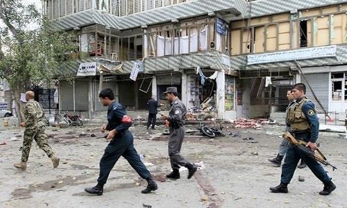 Suicide attack in helmand