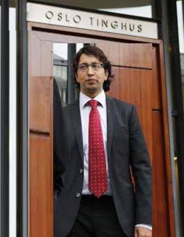 Norwegian Pakistani Lawyer Ahsan Rashid