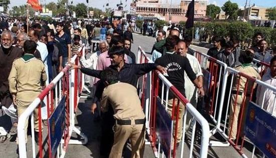 Security Arrangements for 9 Muharram Juloos