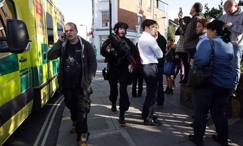 Train Attack in London