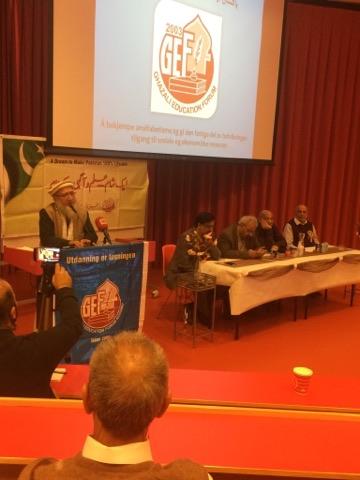 Amjad Islam Amjad in Norway   Khalid Masood Khan in Norway   Ghazali Education Forum Norway