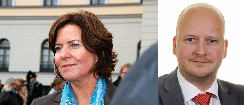 Norwegian Ombudswoman Ms Hanne Bjurstrøm and Mr. Sigbjørn Aanes, State Secretary at the Norway's Prime Minister's Office