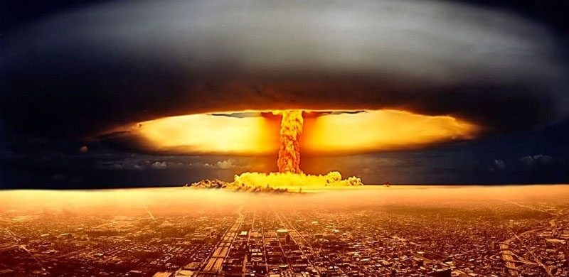 more than 16000 atom bombs in the world could be destructive if blast
