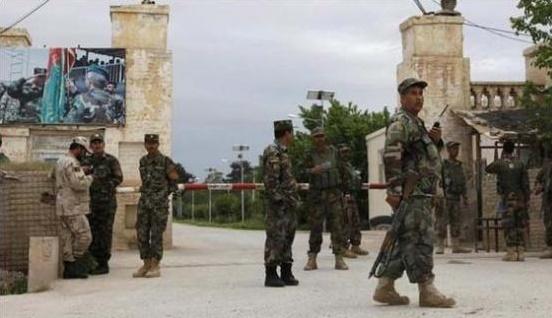 rocket attack on international military headquarters kabul