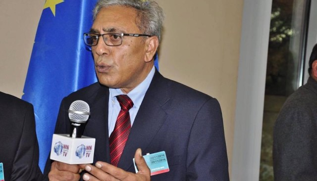 Chairman Kashmir Council Eu Ali Raza Syed