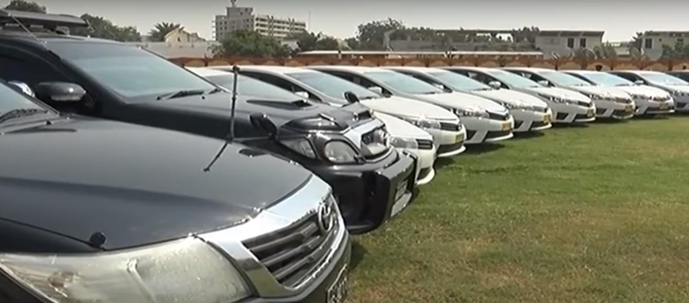 Pakistan Sindh Rangers Recovered 51 Stolen Vehicles | 51 stolen vehicles recovered in 'largest ever' operation in Pakistan: Sindh Rangers