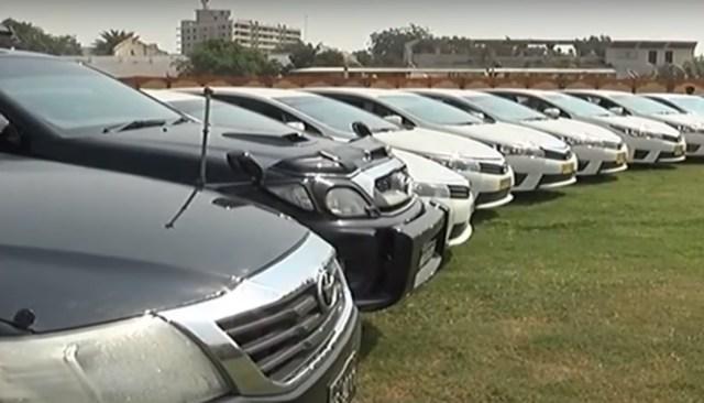 Pakistan Sindh Rangers Recovered 51 Stolen Vehicles   51 stolen vehicles recovered in 'largest ever' operation in Pakistan: Sindh Rangers