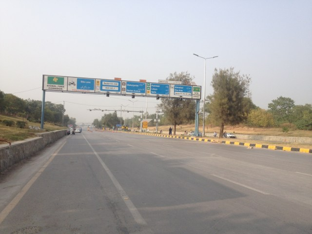 Islamabad Expressway After Faizabad Protest