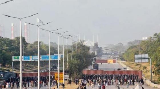 Faizabad Dharna   Tehreek e Labaik Protest