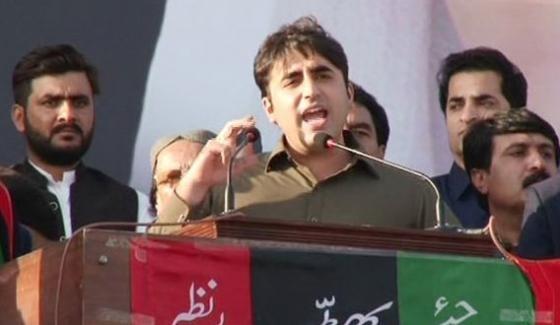 Bilawal Bhutto Zardar Jalsa in Hub