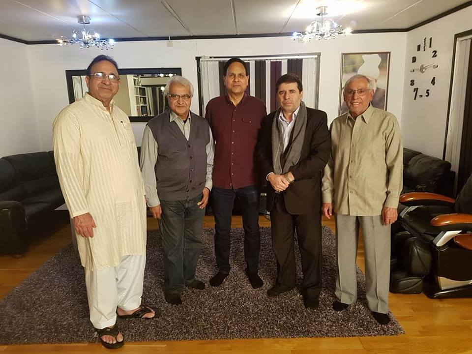Dinner Hosted by Syed Mubarak Shah in Oslo Norway
