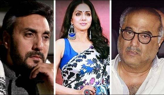 Adnan Siddiqui Siri Devi and Boney Kapoor