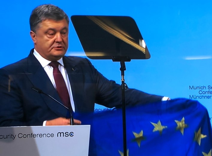 President of Ukraine H.E Petro Poroshenko speech at Munich Security Conference