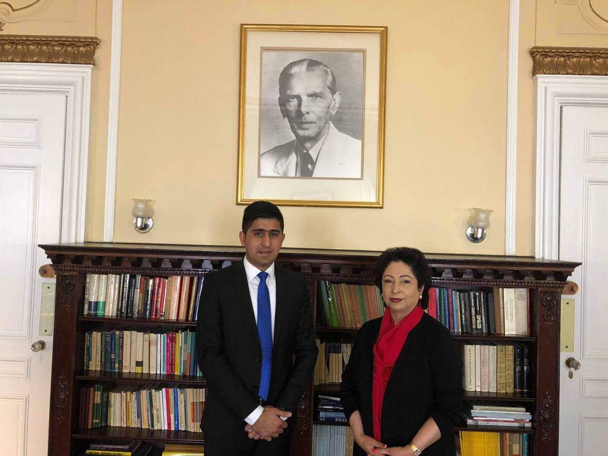 "'The world needs to see a true picture of our motherland & our youth must play an effective role in better imaging of Pakistan"" – Maleeha Lodhi"