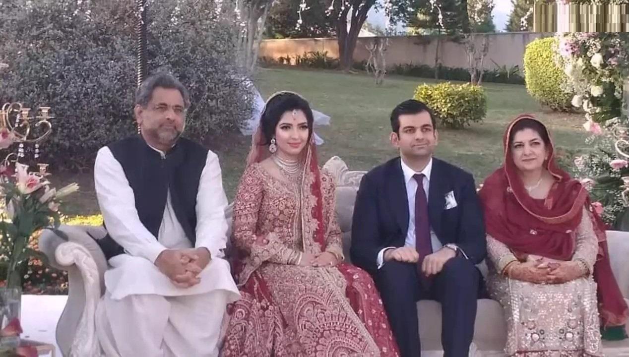 Abdullah Khaqan Abbasi Wedding