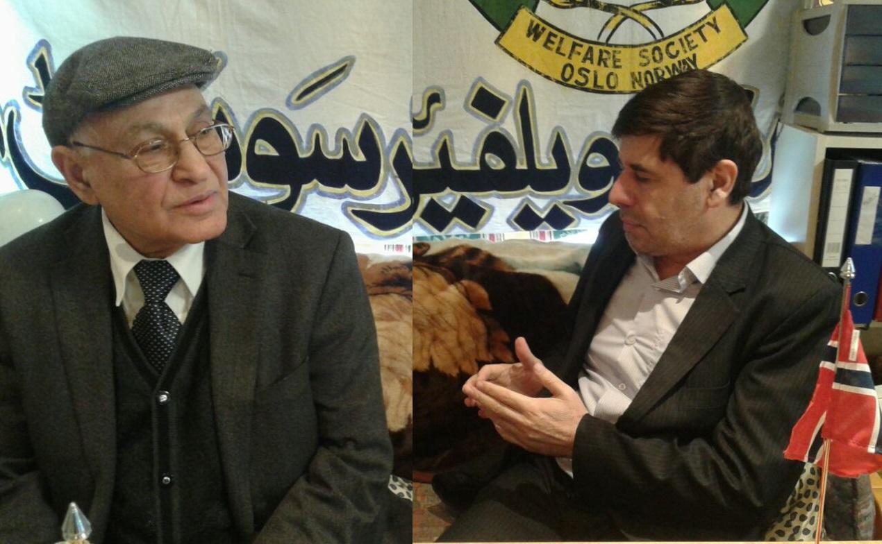 Nazeer Khalid Butt and Syed Sibtain Shah