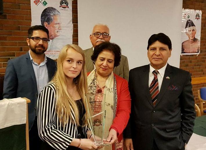 Andrea Hoff Haga Receives Award