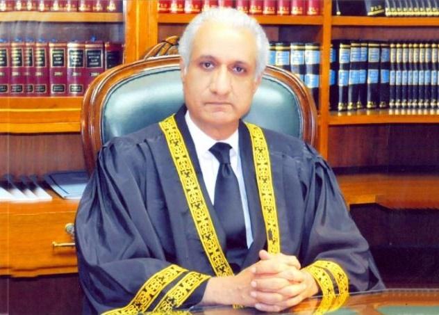 Firing on Justice Ijaz ul Ahsan