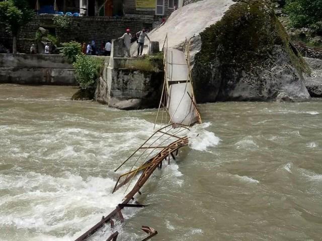 Neelum Valley Bridge Collapsed