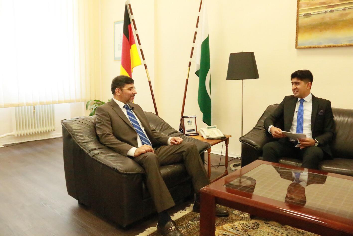 Pakistan Ambassador to Germany Jauhar Saleem