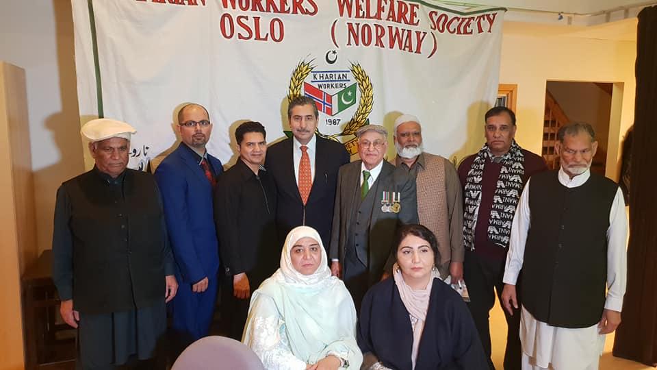 پی او سی کارڈز پر سم لے سکتے ہیں اور بنک اکاونٹ کھول سکتے ہیں، سفیرپاکستان ظہیرپرویز خان کا کھاریاں ویلفیئر سوسائٹی کی تقریب سے خطاب