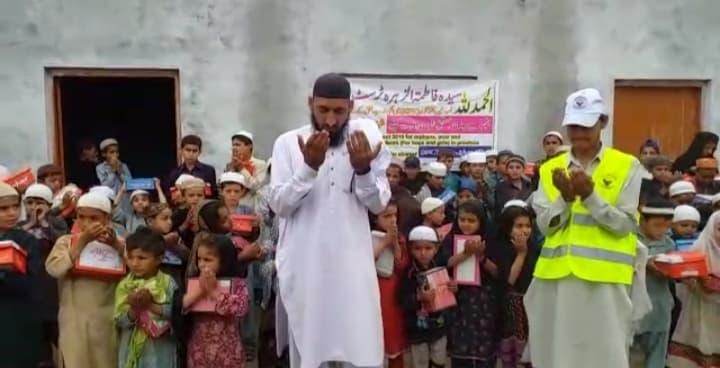 سیدہ فاطمہ الزہرا ؑ ٹرسٹ ناروے کے زیراہتمام مستحق بچوں میں پاپوش کی تقسیم