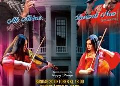 ناروے: ورثہ کا ثقافتی پروگرام ۲۰ اکتوبر بروز اتوار اوسلو میں ہوگا، شاہ رخ سہیل .. معروف گلوکار علی عباس اور ثروت ناز اپنے فن کا مظاہرہ کریں گے