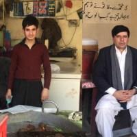بفہ۔مانسہرہ کا مشہور معمر کبابی ''جمعہ خان'' کباب کے لاجواب ذائقہ کے ساتھ کئی عشروں سے براجماں ہے مانسہرہ سے سید سبطین شاہ کی ڈائری