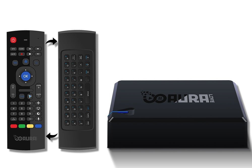 Aura live box remote