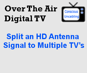 Split an HD Antenna Signal to Multiple TV's