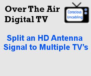 Split an HD Antenna Signal to Multiple TV's