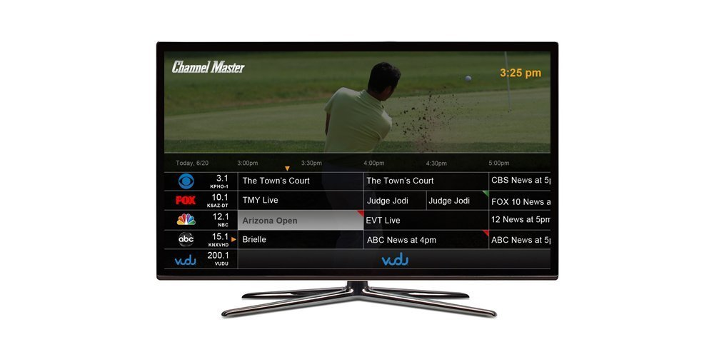 channel master DVR epg