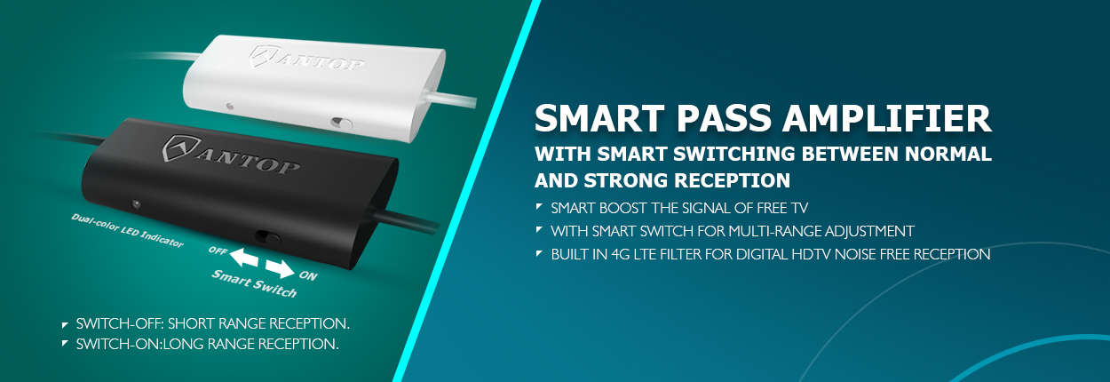 Smart pass amp
