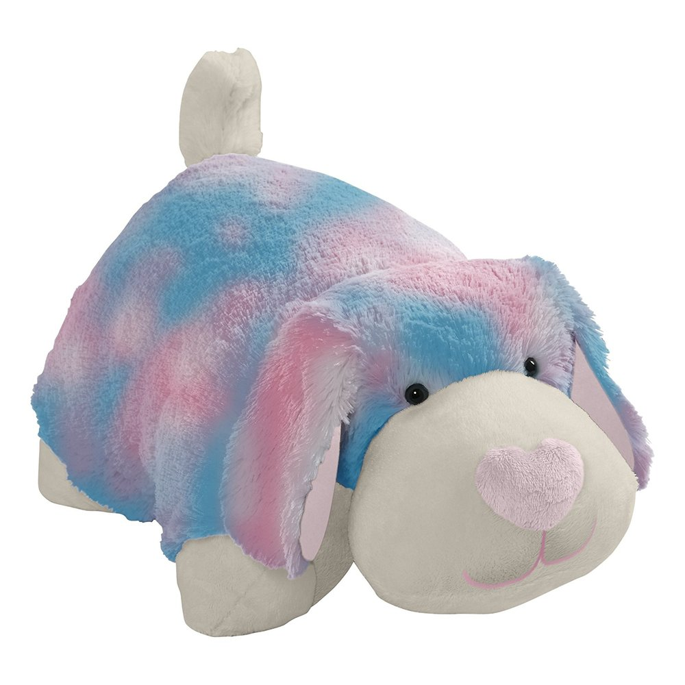 pillow pets cotton candy puppy over