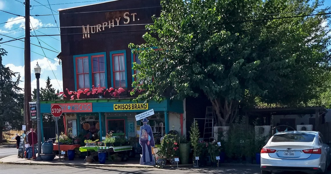 Murphy Street Alpine TX